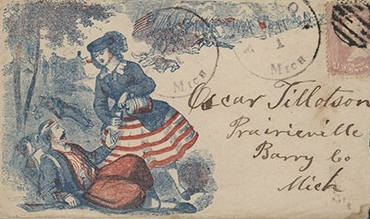 Civil War Patriotic Envelopes